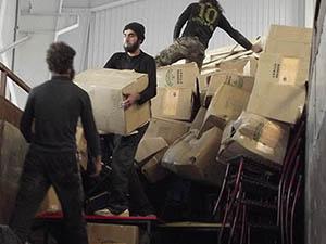 """""""Fuat Çağlar Yardım Tırı"""" Suriye'ye Ulaştı"""