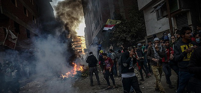 Mısır'da Cuma Gösterilerinde 2 Kişi Öldü