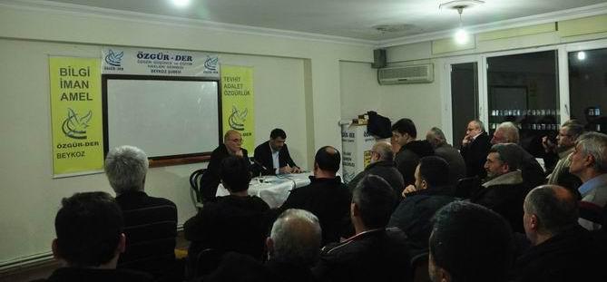 """Beykoz'da """"Darbe Kıskacında Mısır ve İhvan"""" Paneli"""