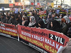 Roboski Katliamı Diyarbakır'da Protesto Edildi