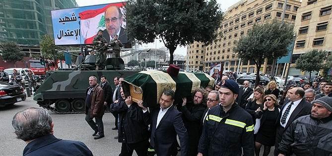 Şatah İçin Beyrut'ta Cenaze Töreni Düzenlendi