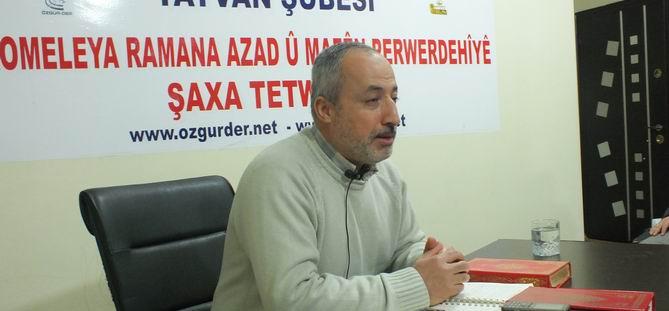 "Tatvan Özgür-Der'de ""Kur'an'da Allah"" Semineri"