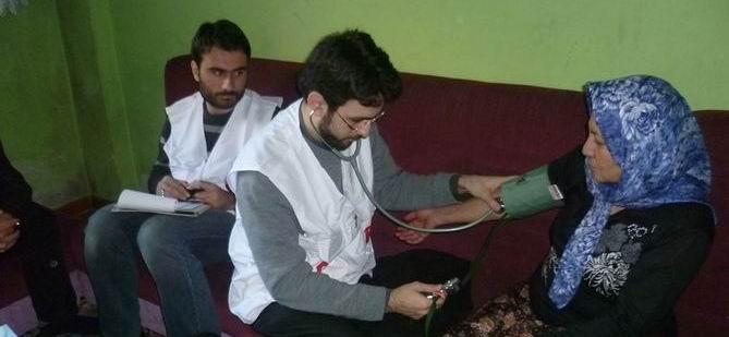 AID'in Suriyeli Mültecilere Sağlık Taramaları Devam Ediyor