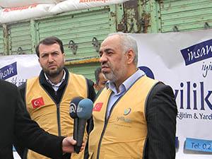 İyilik-Der Yardım Konvoyu Suriye'ye Gönderildi
