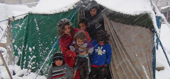 2,3 Milyon Suriyeli Soğukla Savaşıyor