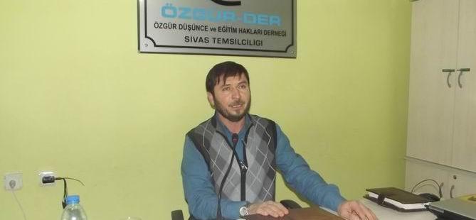 """Sivas'ta """"Dini Allah'a Has Kılmak"""" Semineri"""