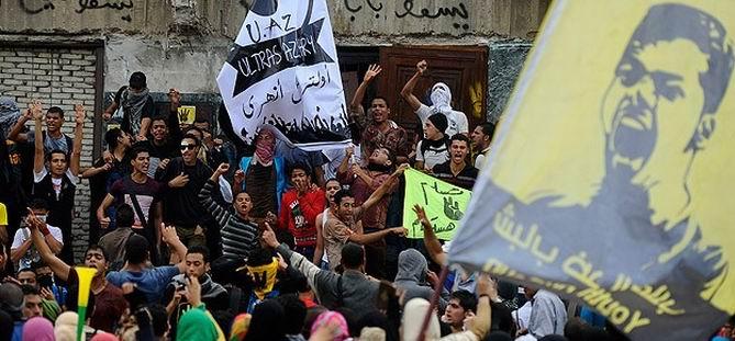 Mısır'da Öğrencilerin Darbe Karşıtı Gösterileri Sürüyor
