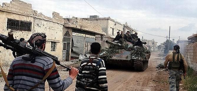 Direnişçiler Esed'e 2013'te Büyük Darbe Vurdu