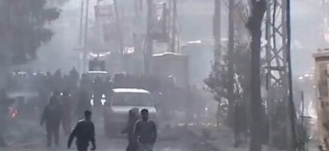 Esed Güçleri Halep'i Yine Bombaladı
