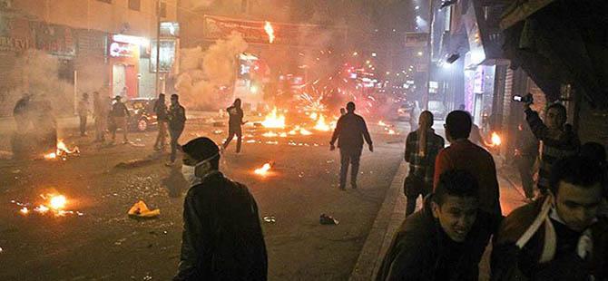 Mısır'da Göstericilere Müdahale: 2 Şehit, 6 Yaralı