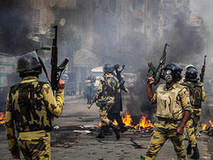 Mısır'da Polis Ateşiyle 5 Gösterici Şehit Oldu