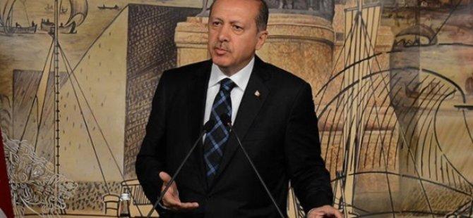 Erdoğan'dan Gazetecilere ''Kararlılık'' Mesajı