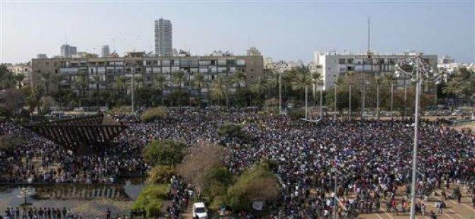 İsrail'de Afrikalılardan Dev Protesto