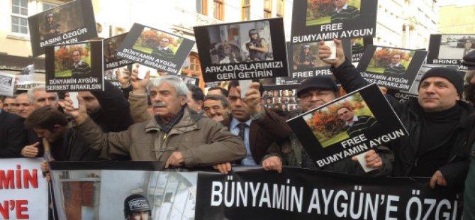 Gazeteciler, Bünyamin Aygün İçin Yürüdü