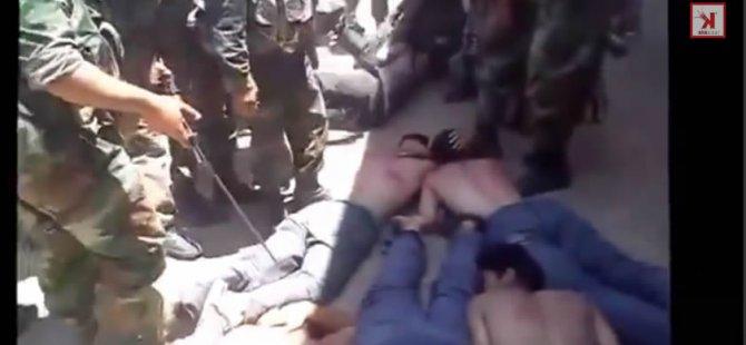 Esed Askerlerinin Zulümleri Kameraya Böyle Yansıdı