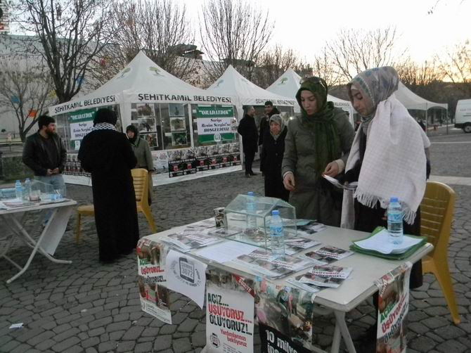 Gaziantep'te Suriye Konulu Resim Sergisi