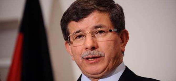 """Davutoğlu: """"Suriye'de Şerlerin Kaynağı Esed Rejimidir"""""""