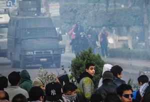 Mısır'da Referandumu Boykot Gösterileri