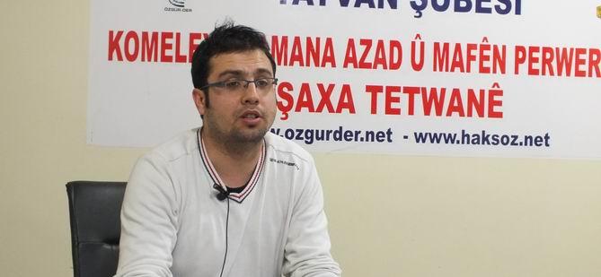 """Tatvan Özgür-Der'de """"Kur'an'da Sabır"""" Semineri Yapıldı"""