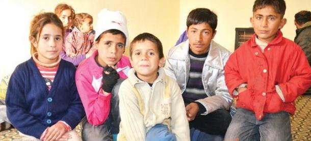 40 Suriyeli Donmak Üzereyken Kurtarıldı