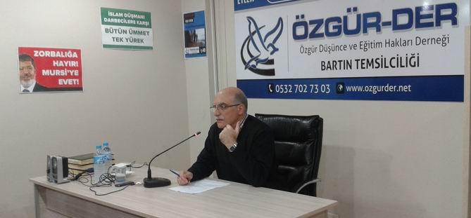 Bartın'da ''İslam Dünyası ve Müslümanlar'' Semineri