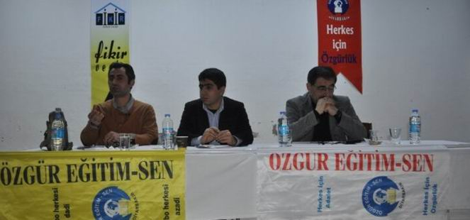 """Diyarbakır'da """"Eğitimin Aktüel Sorunları"""" Semineri"""
