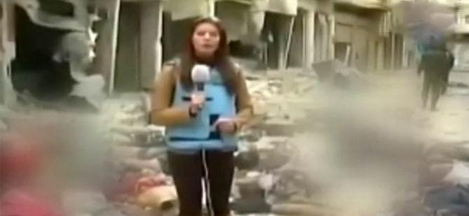 Cesetlerin Arasında Haber Yaptı