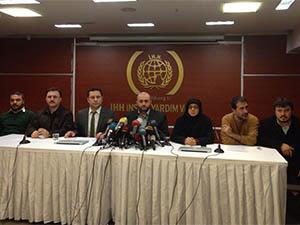İHH'da Kilis Baskını Hakkında Basın Açıklaması