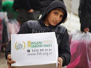 Suriye İçin 200 TIR Daha Yardım İçin Yolda