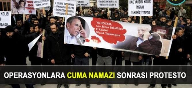 Van'da Hukuksuz Operasyonlar Protesto Edildi