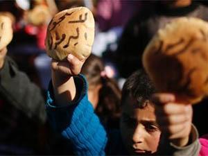 Gazze ve Kudüs'te Esed'e Yermuk Protestosu