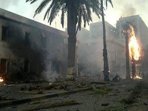 Libya'da Canlı Bomba Eylemi: 5 Polis Yaralı