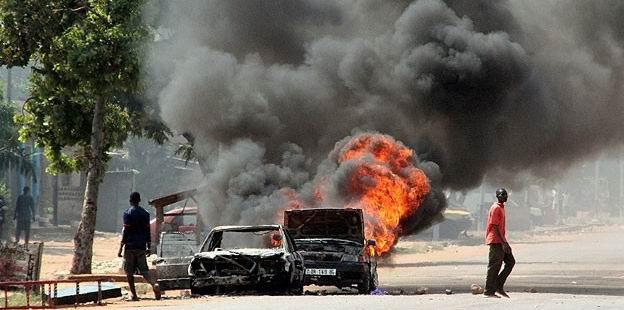 Orta Afrika'da Müslümanların Konvoyuna Saldırı