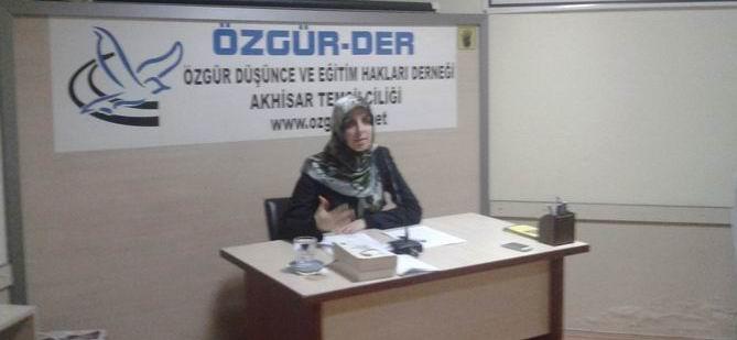 Akhisar'da ''Modern Kadın İmgesinin Kurgulanışı'' Semineri