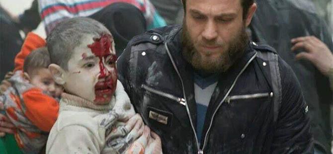 Varil Bombaları Filistinli Çocukları da Katletti