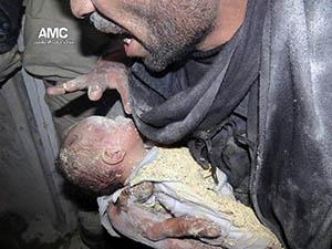 Suriye'de Son İki Gün: 42'si Çocuk; 246 Şehit (FOTO-VİDEO)