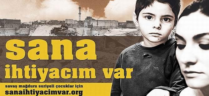 """Suriye için """"Sana İhtiyacım Var"""" Kampanyası"""