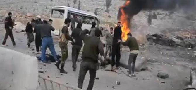 Cilvegözü Yakınlarında Bomba Yüklü İki Araç Patladı
