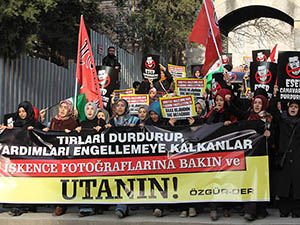 İşkenceci Baas Cuntası Fatih'te Protesto Edildi (VİDEO)