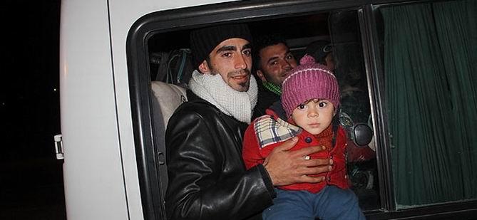 400 Suriyeli Çadır Kente Yerleştirildi