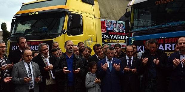 Bursa İHH'dan Suriye'ye 6 Tır yardım
