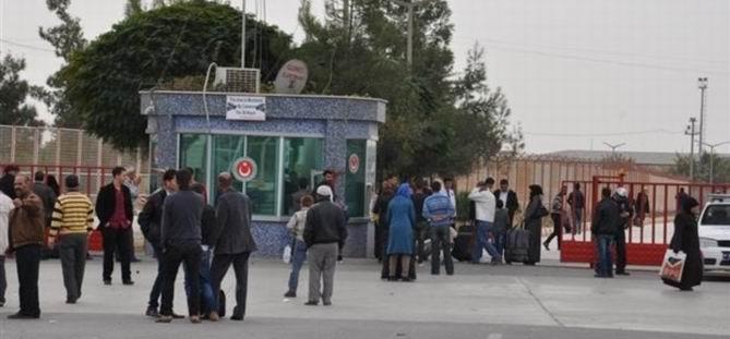 Öncüpınar Sınır Kapısı Araç Trafiğine Açıldı