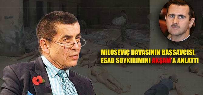 Esed'in İşkenceleri Miloseviç'le Aynı