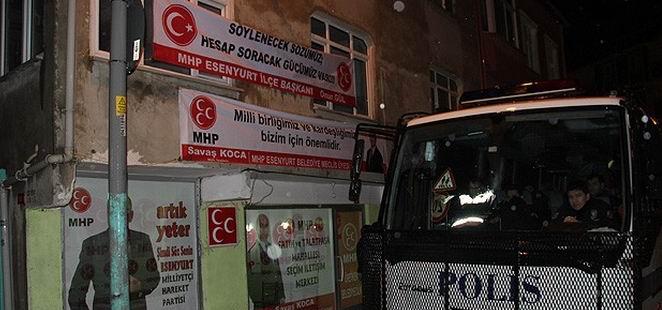 MHP Seçim Bürosu Açılışında Silahlı Saldırı