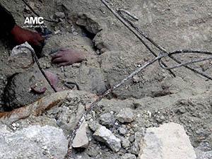 Esed Güçleri Bir Ayda 600 Varil Bombası Attı