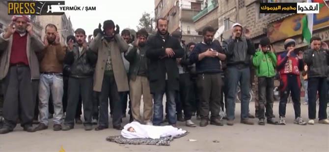 Suriye'de Şimdiye Kadar 2511 Filistinli Şehit Oldu