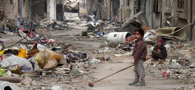 'Humus'a Gıda Giriş ve Çıkışı Yasak'