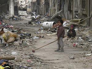 Kuşatma Altındaki Humus: Ot Yiyerek Hayatta Kalmak
