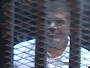 Rabia İşaretiyle Çıktı, Mahkemeye Sırtını Döndü