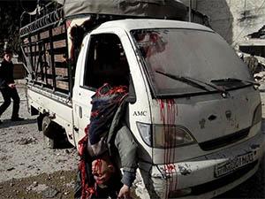 Esed Yine Varil Bombasıyla Vurdu: 15 Ölü (VİDEO)